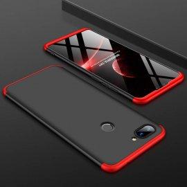Funda 360 Xiaomi Mi 8 Lite Roja y Negra