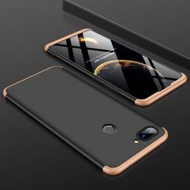 Funda 360 Xiaomi Mi 8 Lite Dorada y Negra