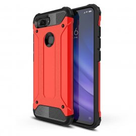 Funda Xiaomi MI 8 Lite Shock Resistante Roja