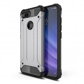Funda Xiaomi MI 8 Lite Shock Resistante Gris