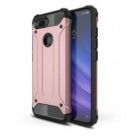 Funda Xiaomi MI 8 Lite Shock Resistante Rosa