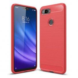 Funda Xiaomi Mi 8 Lite Tpu 3D Roja