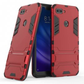 Funda Xiaomi Mi 8 Lite IShock Resistante Roja