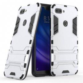 Funda Xiaomi Mi 8 Lite IShock Resistante Gris Plata