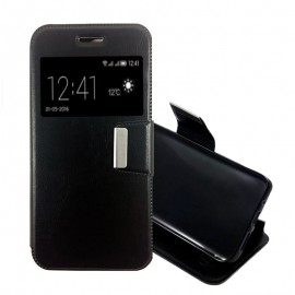 Funda Libro Samsung Galaxy J7 2016 Tapa Negra