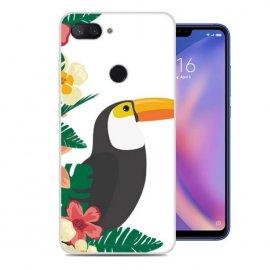 Funda Xiaomi MI 8 Lite Gel Dibujo Tucan
