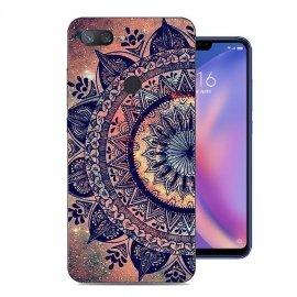 Funda Xiaomi MI 8 Lite Gel Dibujo Flor