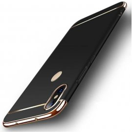 Funda Xiaomi Redmi Note 6 Pro Cromadas Negra