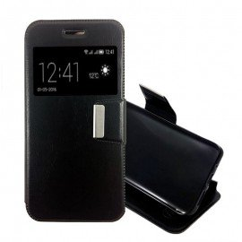 Funda Libro Huawei P8 con Tapa Negra