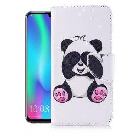 Funda Libro Honor 10 Lite Soporte Panda