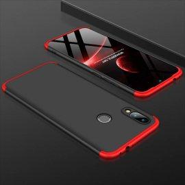 Funda 360 Xiaomi Redmi Note 7 Roja y Negra
