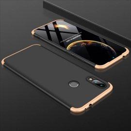 Funda 360 Xiaomi Redmi Note 7 Dorada y Negra
