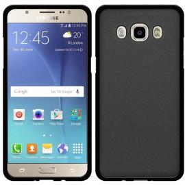 Funda Gel Samsung Galaxy J7 2016 Flexible y lavable Negra