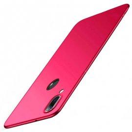 Funda Gel Xiaomi Note 7 Flexible y lavable Mate Roja