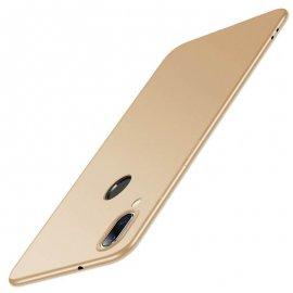 Funda Gel Xiaomi Note 7 Flexible y lavable Mate Dorada