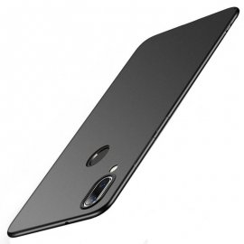 Funda Gel Xiaomi Note 7 Flexible y lavable Mate Negra