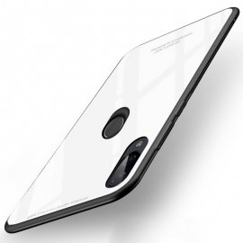 Funda Xiaomi Redmi Note 7 Tpu Trasera Cristal Blanca