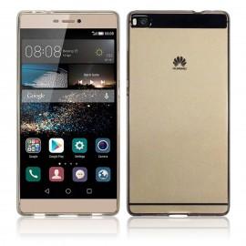 Funda Gel Huawei P8 Flexible y lavable Transparente