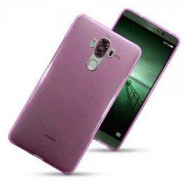 Funda Gel Huawei Mate 9 Flexible y lavable Rosa