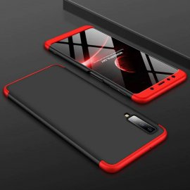 Funda 360 Samsung Galaxy A7 2018 Roja y Negra