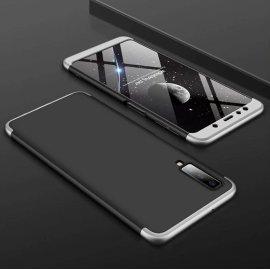 Funda 360 Samsung Galaxy A7 2018 Gris y Negra