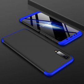Funda 360 Samsung Galaxy A7 2018 Azul y Negra