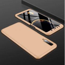 Funda 360 Samsung Galaxy A7 2018 Dorada