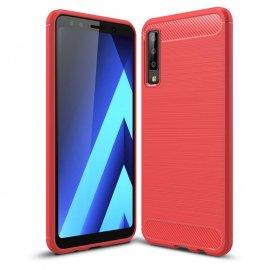 Funda Samsung Galaxy A7 2018 Tpu 3D Roja