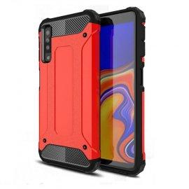 Funda Samsung Galaxy A7 2018 Shock Resistante Roja