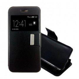 Funda Libro Sony Xperia Z5 Mini con Tapa Negra