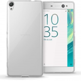 Funda Gel Sony Xperia XA Flexible y lavable Transparente