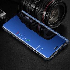 Funda Libro Smart Translucida Samsung Galaxy A7 2018 Azul