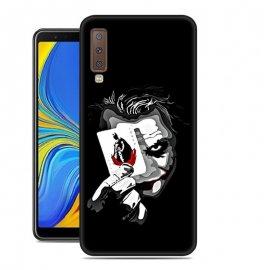 Funda Samsung Galaxy A7 2018 Gel Dibujo Joker