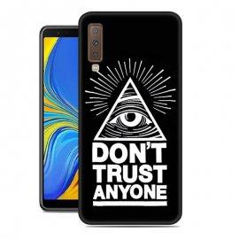 Funda Samsung Galaxy A7 2018 Gel Dibujo Confianza