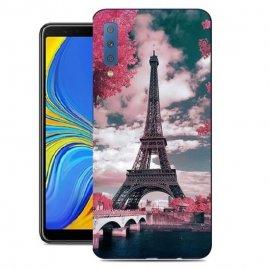 Funda Samsung Galaxy A78 2018 Gel Dibujo Paris