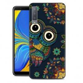 Funda Samsung Galaxy A7 2018 Gel Dibujo Buho