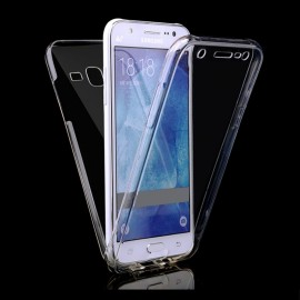 Funda Galaxy J3 2016 Doble Cara Full Transparente