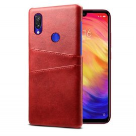 Carcasa Xiaomi Redmi Note 7 Cuero Roja