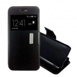 Funda Libro LG X Cam con Tapa Negro