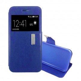 Funda Libro LG K10 con Tapa Azul