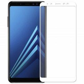 Protector Pantalla Cristal Templado Samsung Galaxy J6 Plus Blanco