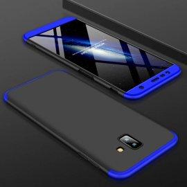 Funda 360 Samsung Galaxy J6 Plus Azul y Negra