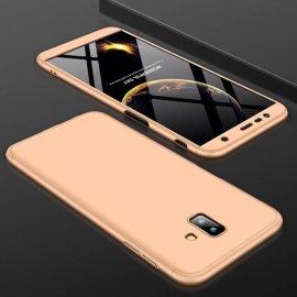 Funda 360 Samsung Galaxy J6 Plus Dorada
