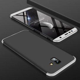Funda 360 Samsung Galaxy J6 Plus Gris y Negra
