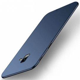 Funda Gel Samsung Galaxy J6 Plus Flexible y lavable Mate Azul