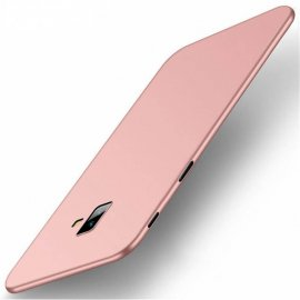 Funda Gel Samsung Galaxy J6 Plus Flexible y lavable Mate Rosa