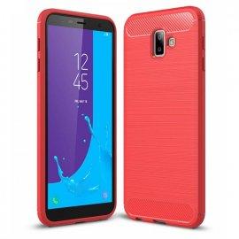 Funda Samsung Galaxy J6 Plus Tpu 3D Roja