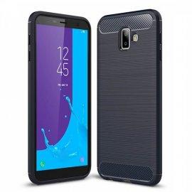 Funda Samsung Galaxy J6 Plus Tpu 3D Azul