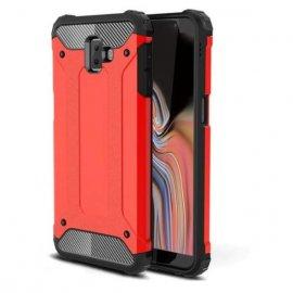 Funda Samsung Galaxy J6 Plus Shock Resistante Roja