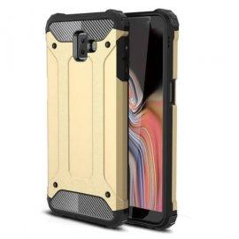 Funda Samsung Galaxy J6 Plus Shock Resistante Dorada